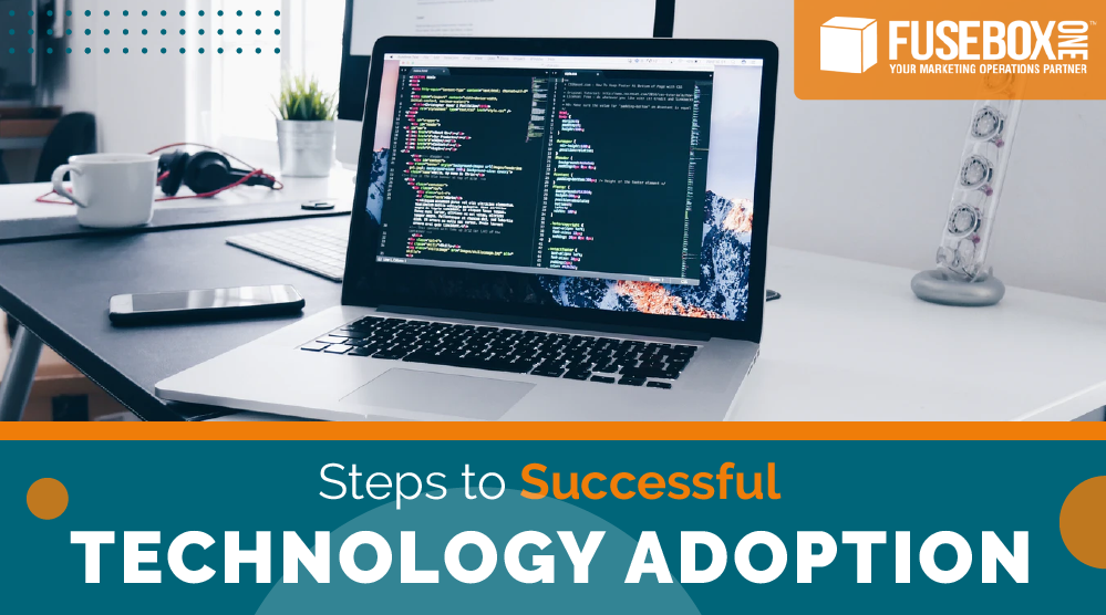 Computer being used to improve Martech adoption rates.